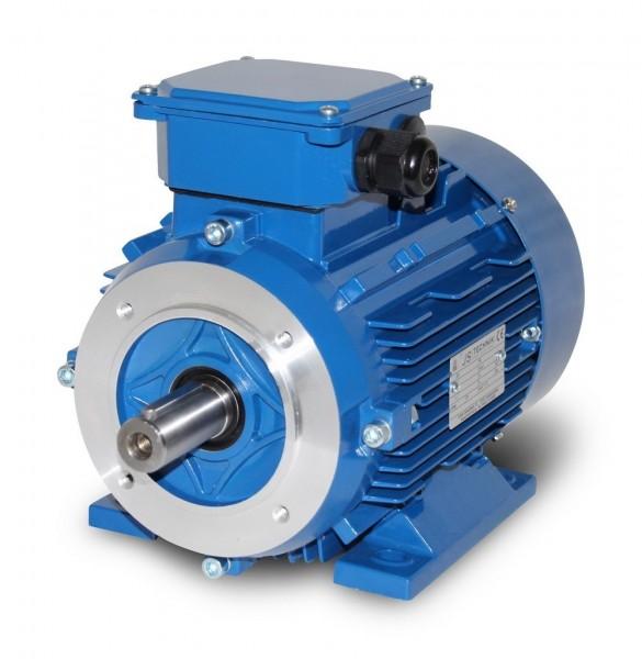 AC- Drehstrommotor MSP 100L 1,76/1,2 kW 4/6pol-B34
