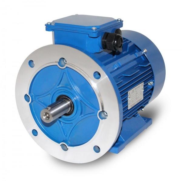 AC- Drehstrommotor MSP 100L 1,76/1,2 kW 4/6pol-B35