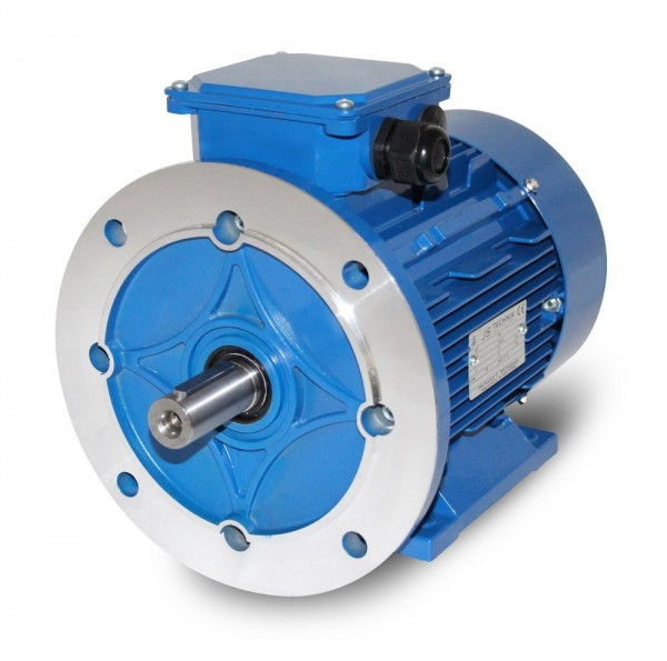 AC- Drehstrommotor MSP 132M 4,5/3,0 kW- 4/8pol-B35