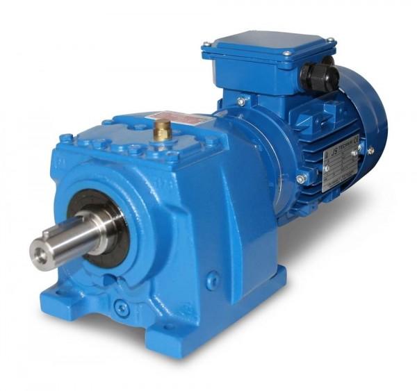 JS-MV102 801-4 - 0,55kW - 171Upm Stirnradgetriebemotor