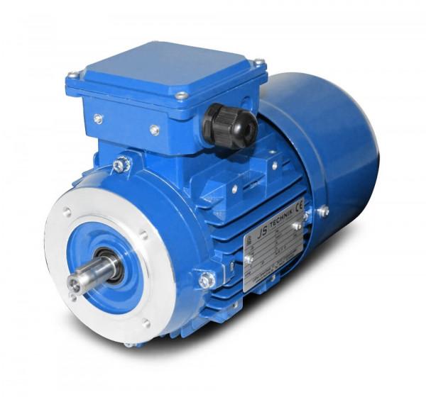 JS-Bremsmotor BMS 801-0,37 kW-6pol-B14