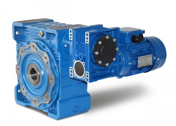 JS- CMRV 090/040-562-4 - 0,09 kW - 0,5 Upm- Schneckengetriebemotor