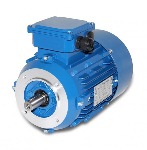 AC- Drehstrommotor MSP 90L 0,55/0,37 KW- 6/8pol-B14