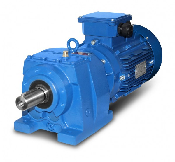 JS-MV-F002-90L-4 - 1,5kW - 387Upm Stirnradgetriebemotor
