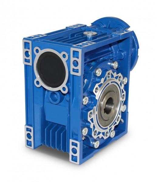 JS- Schneckengetriebe CMRV075 IEC80 B14 i=100