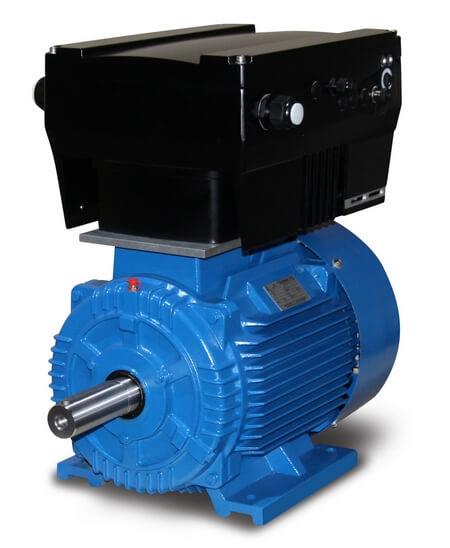 AC-Motor / Frequenzumrichter