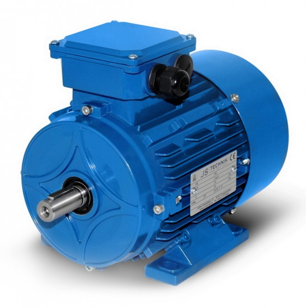 AC- Drehstrommotor MSP 803 0,55/0,30 KW- 4/8pol-B3