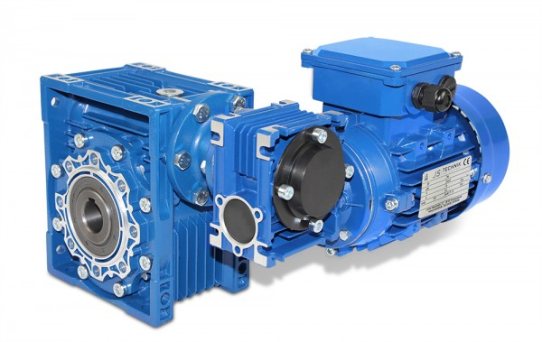 JS- CMRV 063/030-562-4 - 0,09 kW - 1,6 Upm- Schneckengetriebemotor
