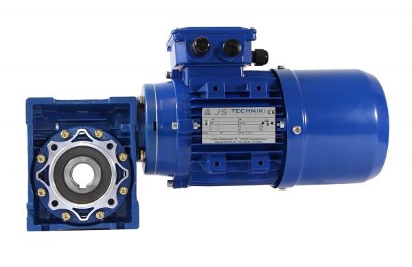 Bremsmotor-Option 0,75kW-4pol für Schneckengetriebe