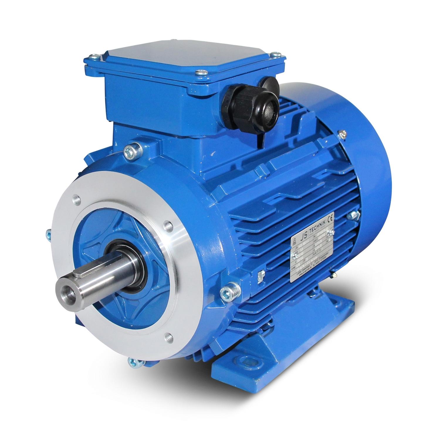 Ac motor drehstrommotor 1 1 kw 2 polig b34 js for 1 kw dc motor