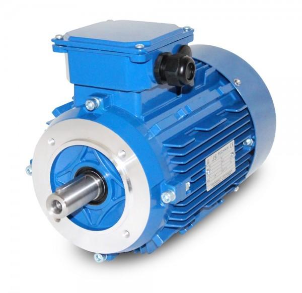 AC- Drehstrommotor MSP 100L 1,25/0,60 kW- 4/8pol-B14