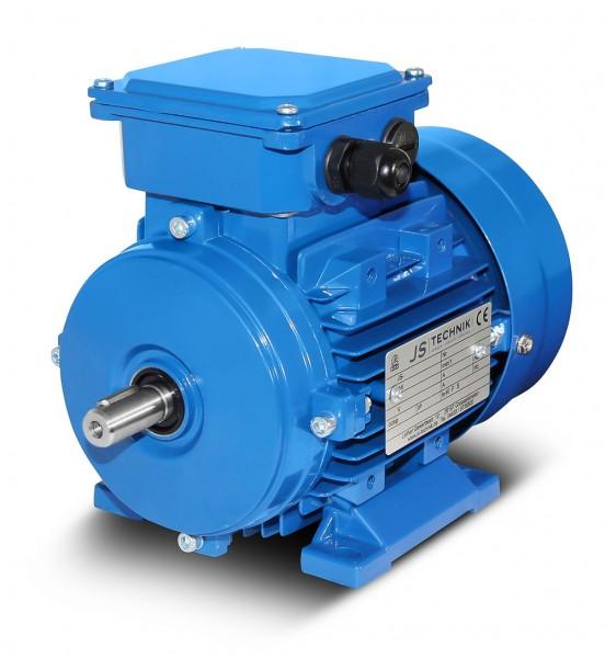 AC- Drehstrommotor MSP 712 0,45/0,30 KW- 2/4pol-B3