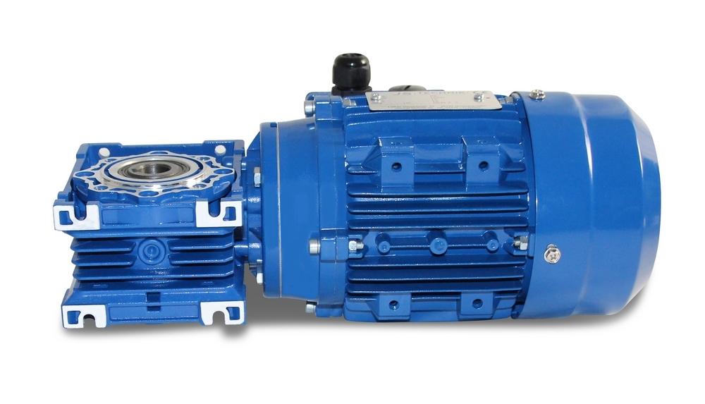 JS- CMRV 040-562-4 - 0,09 KW - 23,3 rpm- Worm Gearbox Motor