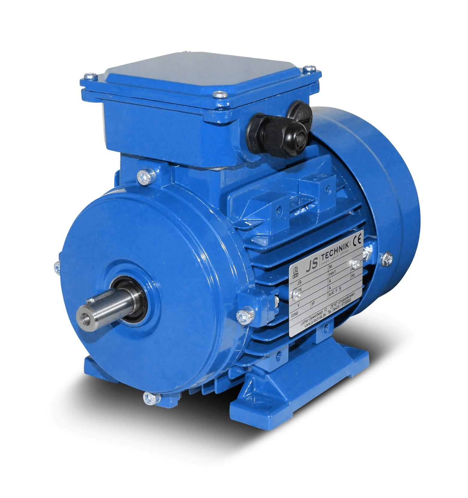 Elektromotor 1,1 kW 3000 U//min Drehstrommotor B14G 80B Energiesparmotor IE2