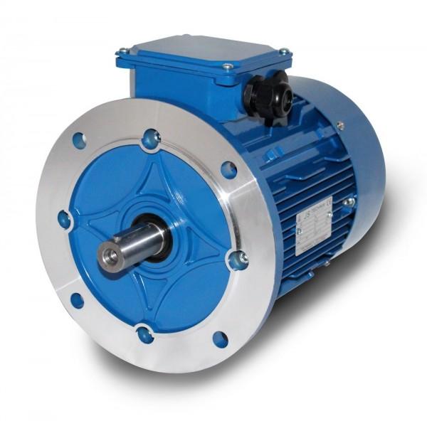 AC- Drehstrommotor MSP 100L 1,76/1,2 KW 4/6pol-B5