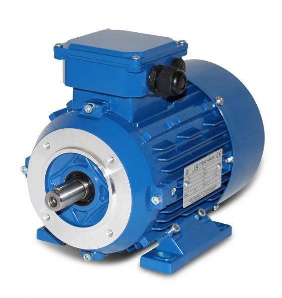 AC- Drehstrommotor MSP 802 0,75/0,60 KW- 2/4pol-B34