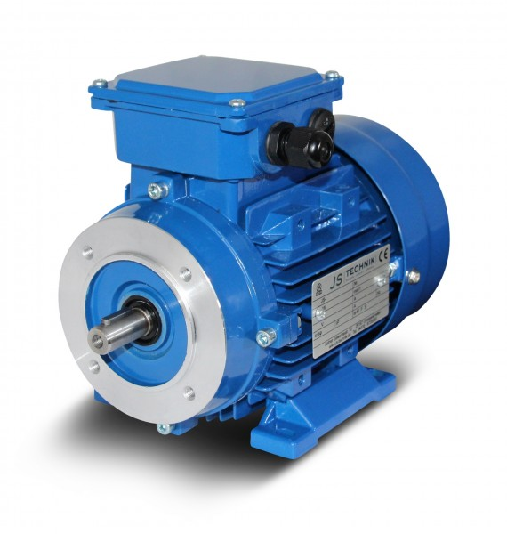 AC- Drehstrommotor MX 631 0,12 kW 4pol-B34
