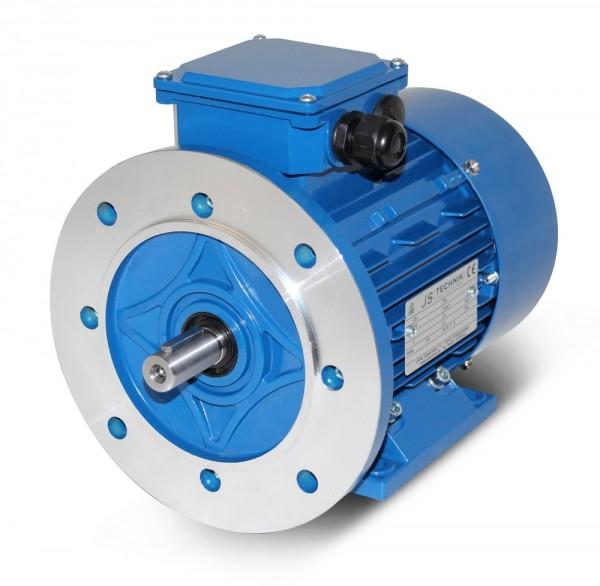 AC- Drehstrommotor MSP-90LX 2,2/1,5 kW, 2/4pol-B35