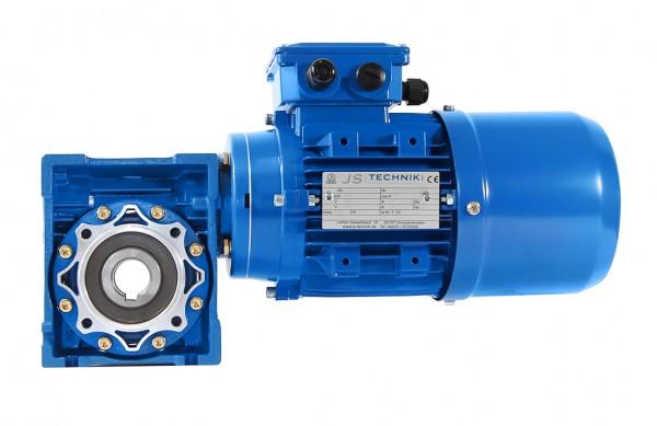 Bremsmotor-Option 0,18kW-4pol für Schneckengetriebe
