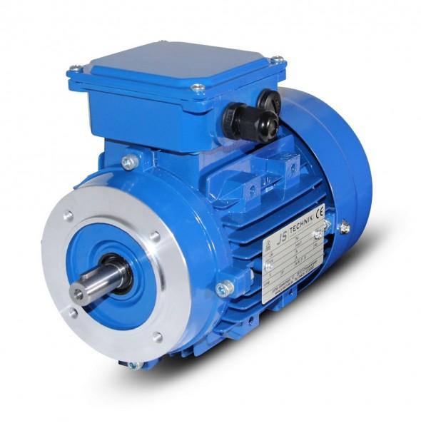 JS- Drehstrommotor MX 63P- 0,25 kW- 4pol- B14