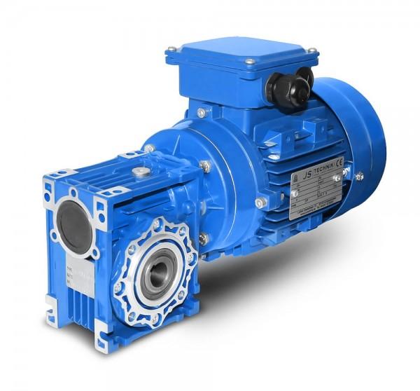 JS- CMRV 040-562-4 - 0,09 KW - 23,3 Upm- Schneckengetriebemotor