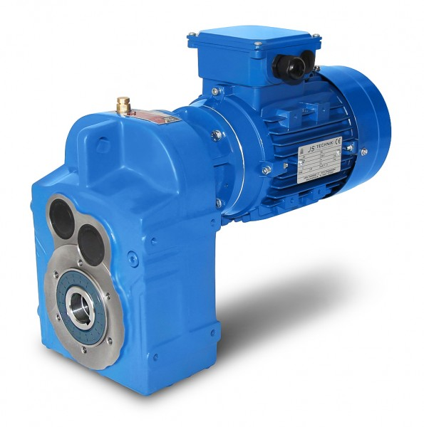 JS-DV373-80-4-0,75 kW-18 U/min Flachgetriebemotor